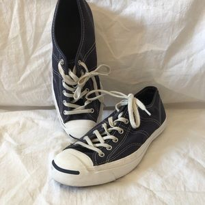 Jack Purcell Converse Sneakers Navy Blue White 8.5